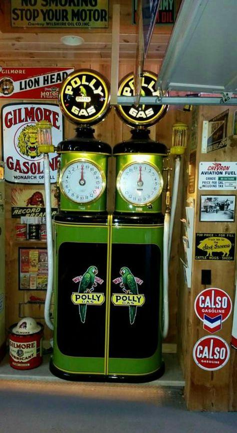 "24/""X24 Rare GILMORE OIL LION BLU GREEN GASOLINE GAS OIL STATION NEON SIGN LIGHT"