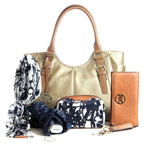 Jane Shoulder Bag in Bronze plus 5 piece Essentials Box!!