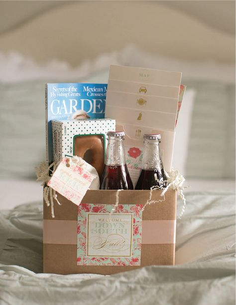 Wedding Night Hotel Gift Basket : ... wedding ! Includes a hangover kit and wedding weekend itinerary I
