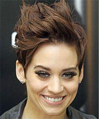 Photo of Kimberly Wyatt Short Straight Hairstyle
