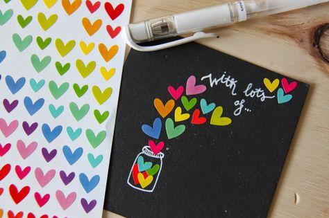 Handbox | Craft Lovers » Comunidad DIY: tutoriales y kits para todosDIY: Tarjetas hanfmade para el Día de la Madre - Handbox | Craft Lovers