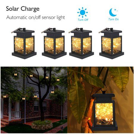 Patio Garden In 2019 Solar Hanging Lanterns Outdoor