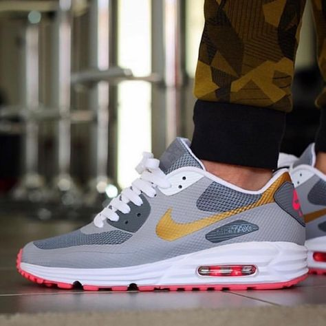 reputable site 0e209 a912f Nike Air Max 90 Hyperfuse Lunar iD s, created and worn by  chonkerez !  These are too dope! Miss the Hyperfuse silhouette...- everythingairmax   nikeairmax
