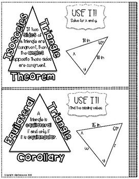Made by Teachers: Geometry Isosceles And Equilateral Triangles