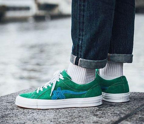 Golf Le Fleur X Converse Green Shoes In 2019 Pinterest Golf