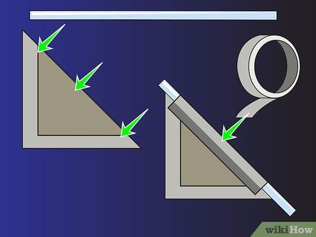 How To Make A Clinometer In 2020 Cool Things To Make How To Make Paper Clip