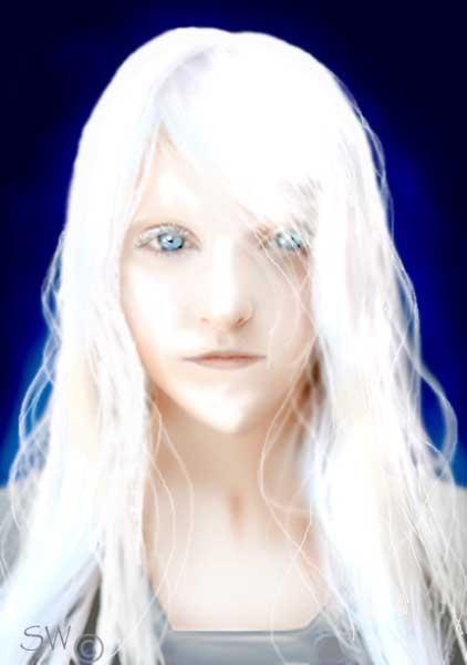 Alien Hybrid3 Sw Red Blonde Hair Alien Pictures Nordic Aliens