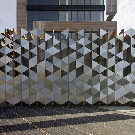 Bermondsey Bike Store: Bike parking by Sarah Wigglesworth Architects