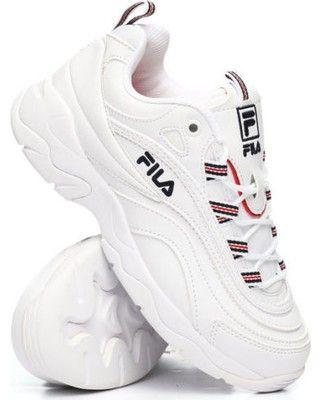 Women's fila ray | Fila white sneakers, Sneakers, Classic