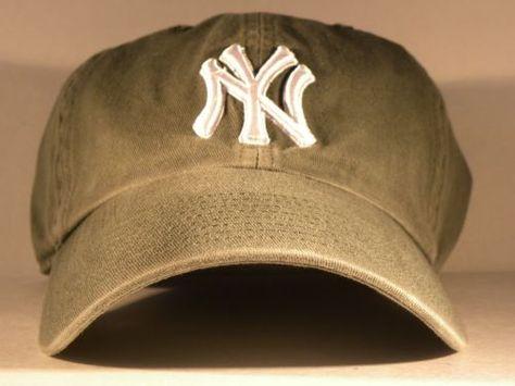 ... ireland mlb new york yankees twins enterprise strap back hat cap khaki  green chibooks4less chideals4less ebay 3bdeea522e5