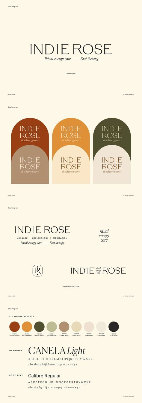 Do you have your own business? In order to market it successfully, you need a beautiful authentic and unique brand. Indie Rose is a recent branding project providing essential oils for a healthy body and mind. Encouraging radical self love and mindfulness Pantone, Brand Identity Design, Branding Design, Corporate Design, Self Branding, Identity Branding, Corporate Identity, Brand Guidelines, Lettering
