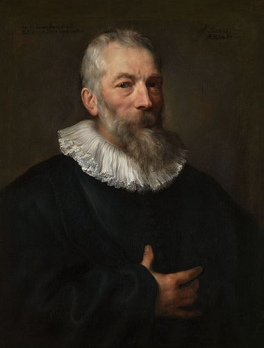 Anthony Van Dyck Portrat Des Maarten Pepijn Portrait Of Maarten Pepijn Antonis Van Dejk Portrety Muzhchin Muzhskie Portrety
