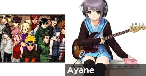 Ayane What Do The Naruto Characters Think Of You Girl Results