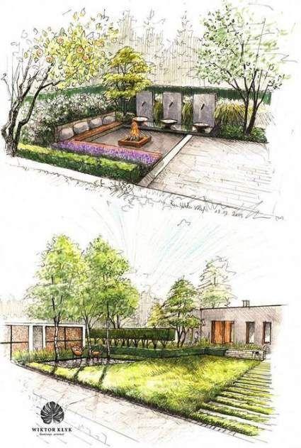 48 Ideas Landscaping Architecture Sketch Garden Design 48 Ideas Landscaping Architecture Sketch Garden Design Landscape Design Plans Garden Architecture Garden Design Layout
