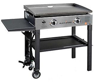 Blackstone 2 Burner 28 Griddle Cooking Station Qvc Com Griddles Outdoor Cooking Blackstone Griddle