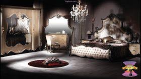 احدث تصميمات وديكورات غرف نوم مودرن رومانسية للعرسان 2021 In 2020 Classic Bedroom Couches For Sale Sofa Sale