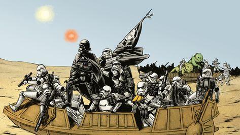 STAR WARS Reimagined as Historical Moments « Nerdist