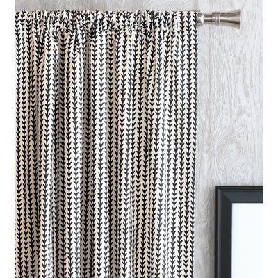 28 color options 84L Grommeted Striped Drapery Panel custom curtains