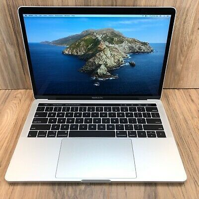 Apple Macbook Pro 2019 Silver 13 Touch Bar 256gb Ssd 8gb In 2020 Macbook Apple Macbook Macbook Pro