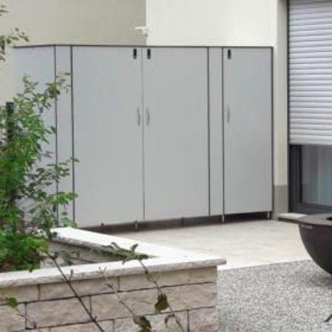Gartenschrank Nach Mass Fur Fahrrader Gartenschrank Balkonschrank Schrank