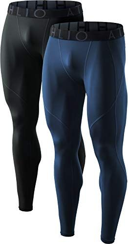 Mens Compression 3//4 Length Pants Base Layer Bottoms Gym Sports Running Leggings