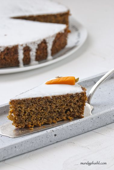 Rezept Karotten Torte Karottentorte Und Birkenzucker