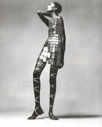 Fashion designers who use metal