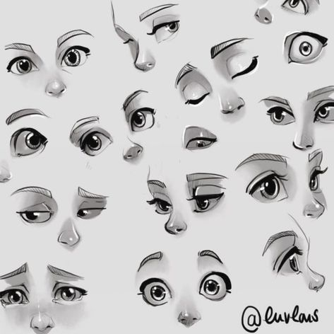 16 Anime Face Expressions Drawing Site Today In 2020 With Images Cartoon Eyes Drawing Eye Drawing Tutorials Eye Expressions