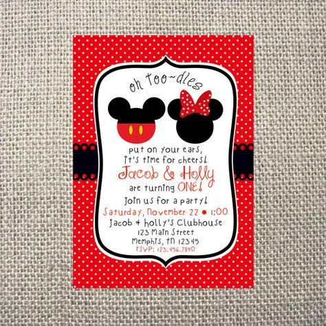 List Of Pinterest Minnie Mouse Birthday Party Ideas Red Invitations