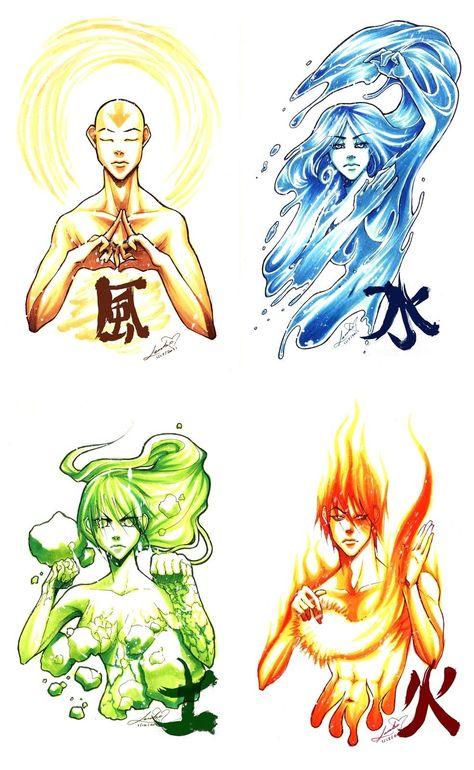 Pin De Luana Em Avatar Aang Korra Desenho Avatar
