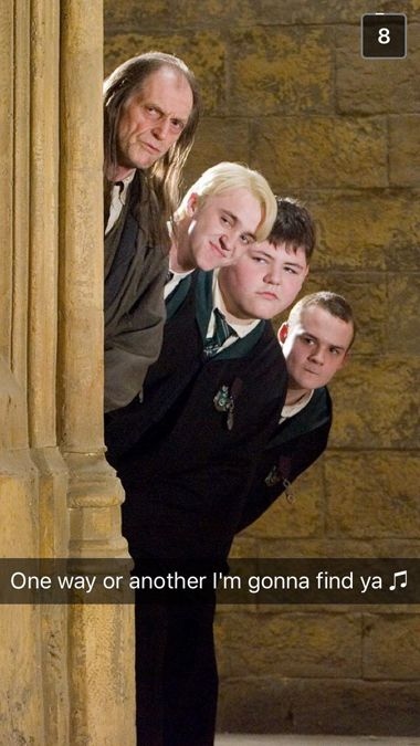 SparkLife » Snapchats from Hogwarts