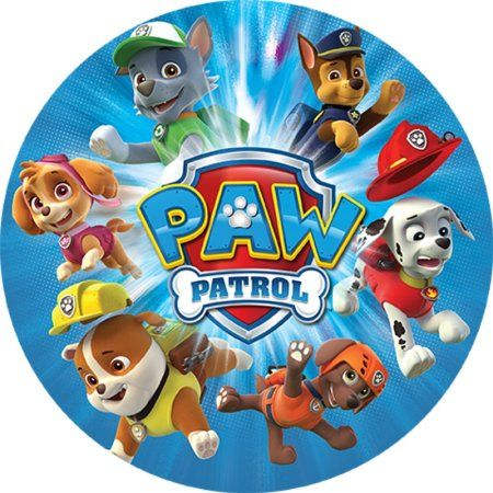 Projectables LED Plug-In Night Light (Paw Patrol), Multicolor