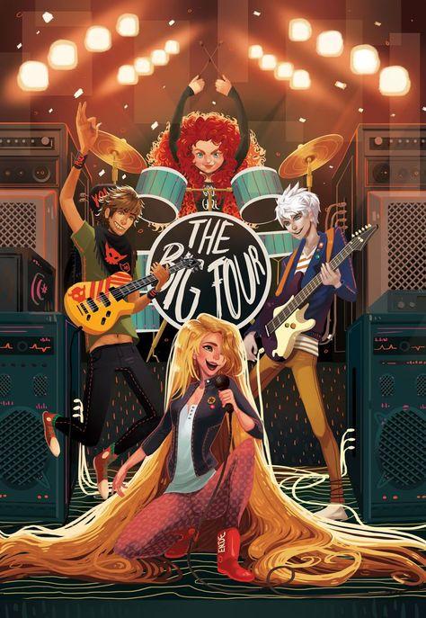The Big Four | by Zipp on Animexx - #Animexx #big #Zipp