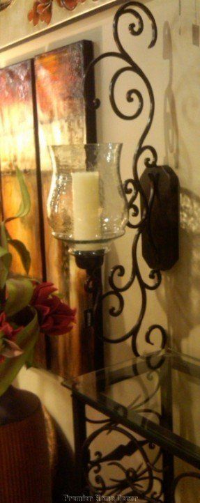 13++ Decorating with candle sconces ideas