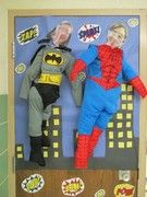 """We are so excited about our February reading month theme """"Be a Super Hero, Read!""""  The teachers and students have been busy preparing for the month by decorating their doors.  Everyone did a truly fantastic job."""