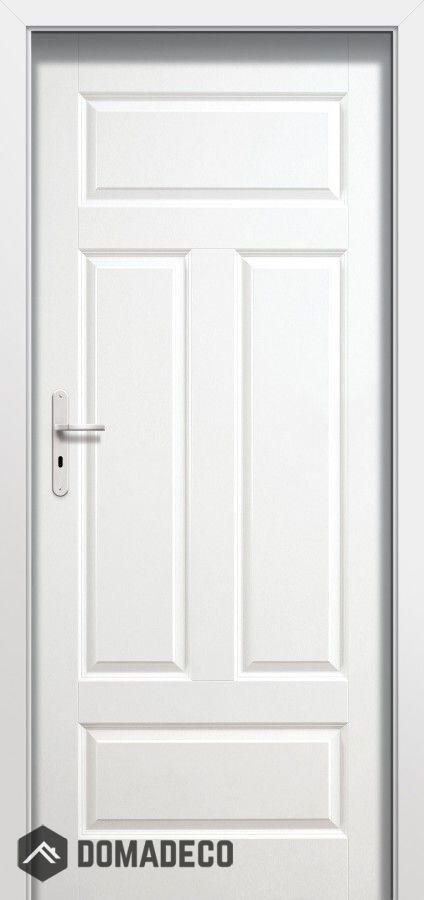 Plano Fio Single White Internal Door White Internal Doors Wood Doors Interior Internal Doors