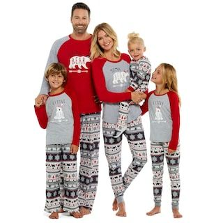 Men S Climatesmart By Cuddl Duds Family Jammies Papa Bear Sleep