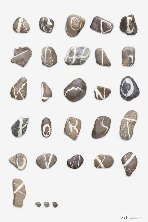 Finding meaning in nature – Stone Fonts and Butterfly Alphabets