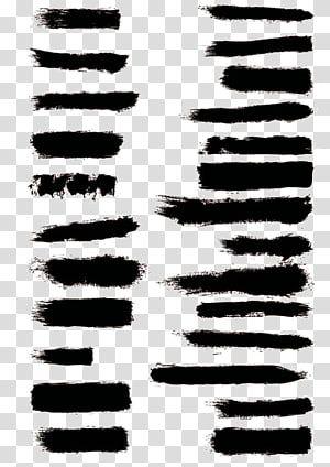 Black Brush Stroke Ink Brush Paintbrush Ink Lines Transparent Background Png Clipart Brush Stroke Png Ink Brush Brush Background