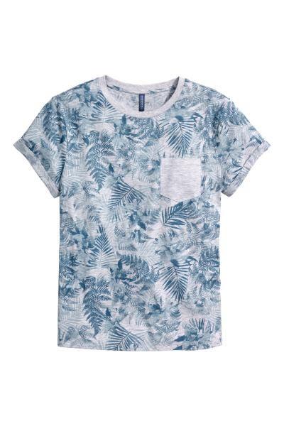 T shirt à motif en 2020   Chemise, T shirt et Debardeur homme