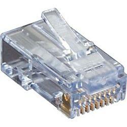 Black Box Cat6 Ez Rj45 Modular Plugs 100 Pack 100 Pack 1 X Rj 45 Male Black Box Plugs Cat6 Cable