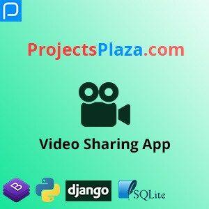 Video Sharing App In Django 3 Projectsplaza In 2020 Video App Search Video