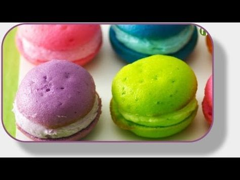 Make these imposter French Macaroons in red or pink for your valentine!