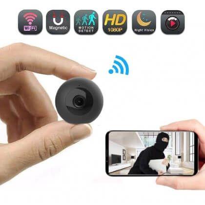 Kabellose Uberwachungskamera Mit Wlan Und Nachtsicht Sensori Uberwachungskamera Wlan Kamera