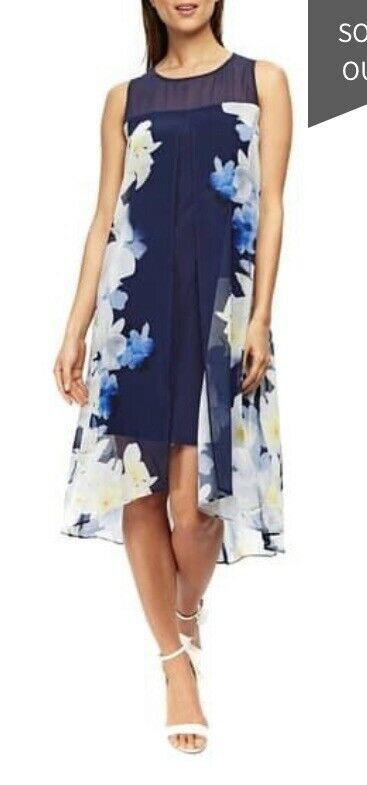 New Wallis Size 14 Navy Lemon Shift Dress In 2020 Shift Dress Dresses Party Dresses Uk