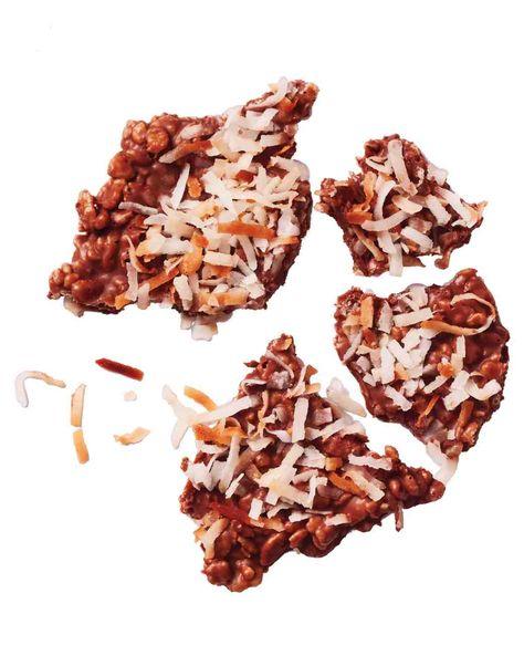 Crunchy Milk-Chocolate Bark Recipe