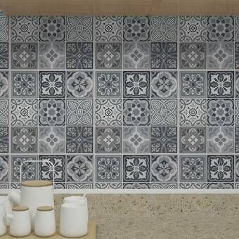 12 X 12 Pvc Peel Stick Mosaic Tile In 2020 Stick On Tiles Peel And Stick Tile Mosaic Tiles