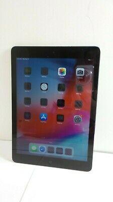 9.7in Space Gray Apple iPad Air 1st Gen 16GB Wi-Fi