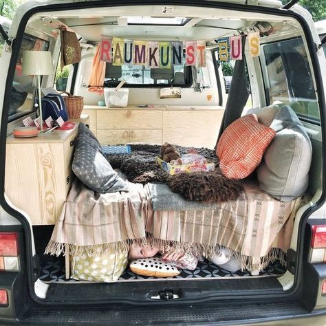 Back seat with a view Rock and roll bed in VW campervan made in - finke küchen angebote