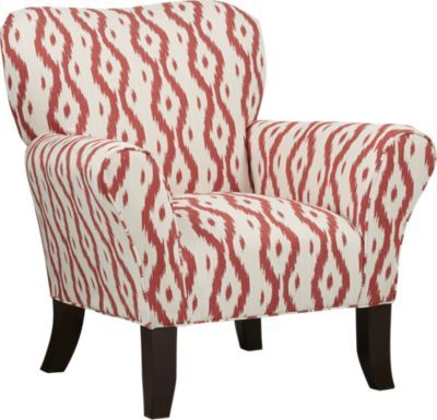 Parga Cardinal Accent Chair Upholstered Chairs Restoration